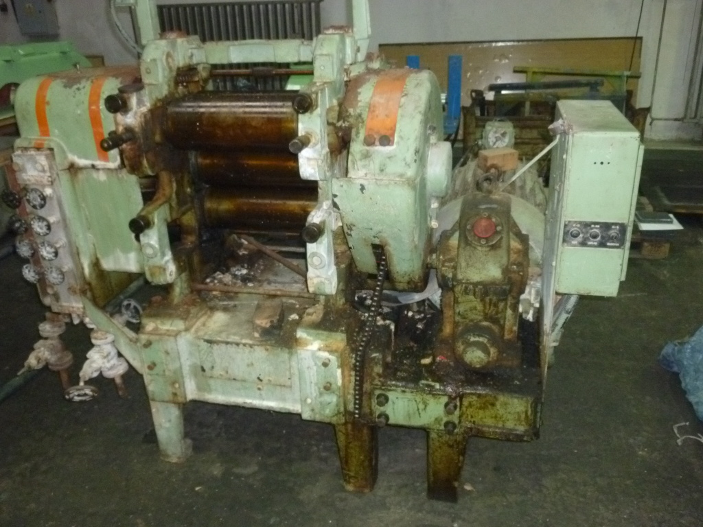 Offer of rubber machinery for sale | SGT